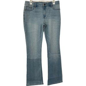 Chicos Jeans Bootcut Light Wash Blue Various